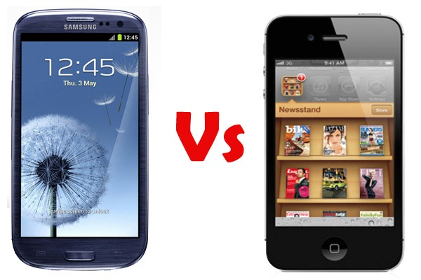 Redsignal | Heat is on; Samsung Galaxy SIII vs iPhone 4